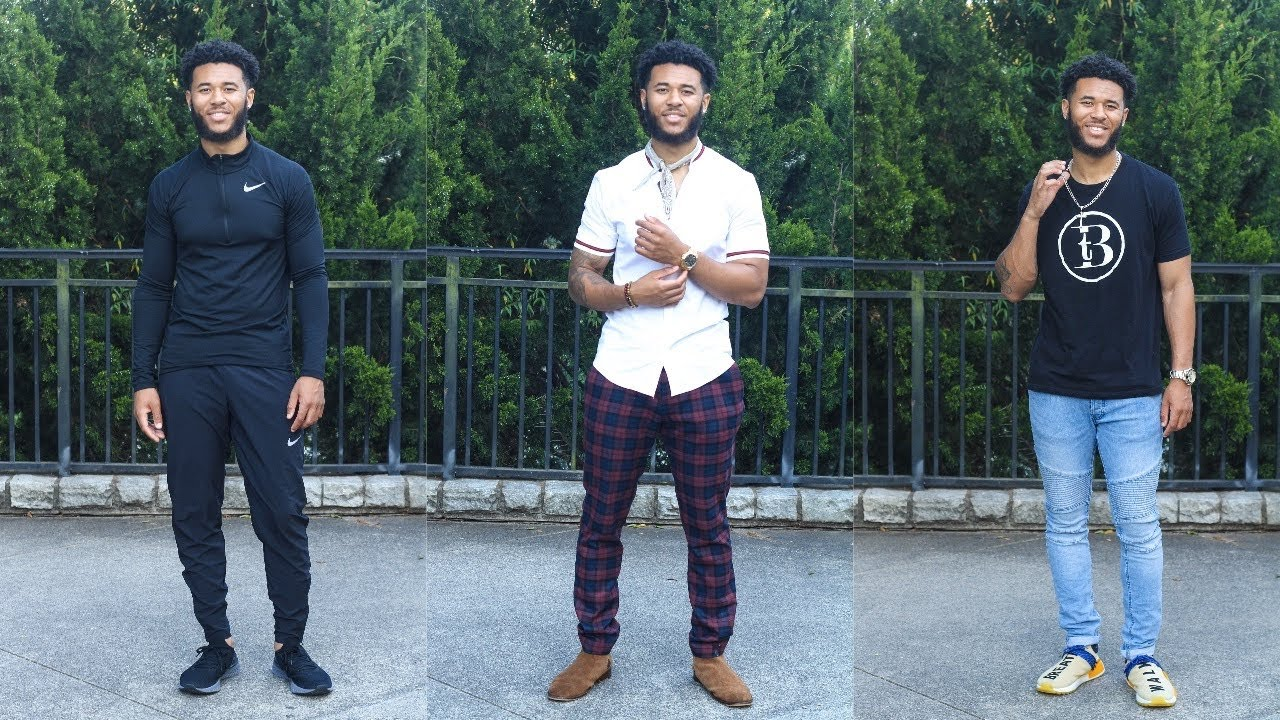 3 SIMPLE OUTFITS FOR THE SUMMER | MENS FASHION LOOKBOOK| Trey Bryant 7