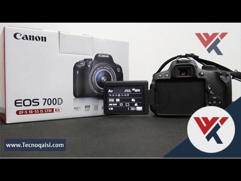 مراجعة وفتح صندوق كاميرا Canon 700D وبعض ميزات الكاميرا | مع السعر