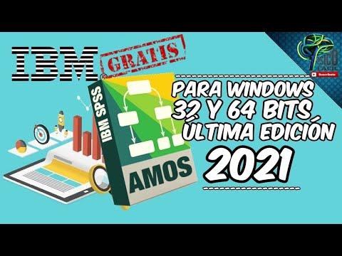 DESCARGA GRATIS SPSS AMOS FULL (WINDOWS X32, X64) ULTIMA VERSION DRIVE 2020
