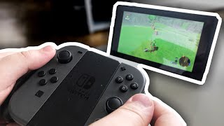 Японская игровая консоль Nintendo switch