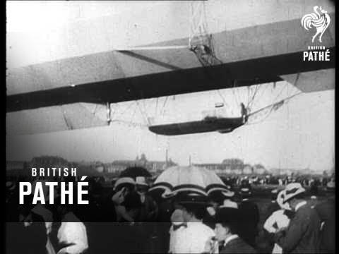 Maiden Flight Of German Airship (1908)
