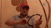 Расплетаем п-274. Далее. Надо размотать необходимое количество полевика (допустим 350м), расплести три-четыре метра и просунуть концы.