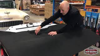 Re-Bonnet Bak Altında bir Fabrika oluşturmak. Bonnet Pad Yalıtım Malzemesi Astar Altında Premium
