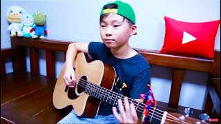 ★ Amazing Sean ★ Luis Fonsi - Despacito (guitar arranged & cover by 10 year-old kid Sean Song)