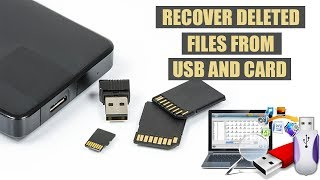 How to recover deleted files from all external usb devices on pc FREE | 2019 Full Tutorial