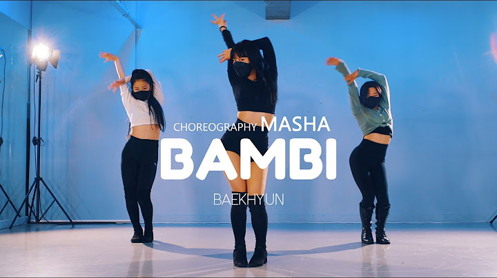 BAEKHYUN 백현 'Bambi' ㅣ Choreography MASHA ㅣ프리미엄 댄스학원 (회원영상)