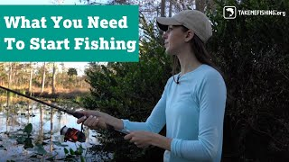 All You Need t๐ Start Fishing | How to Fish