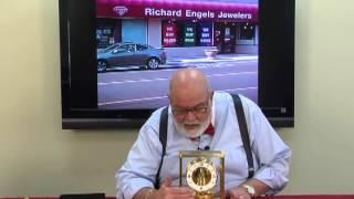 Richard Engels Jewelers Antique Clock Buyers Sellers Dealers (grand Rapids, Mi) Atmos Clock