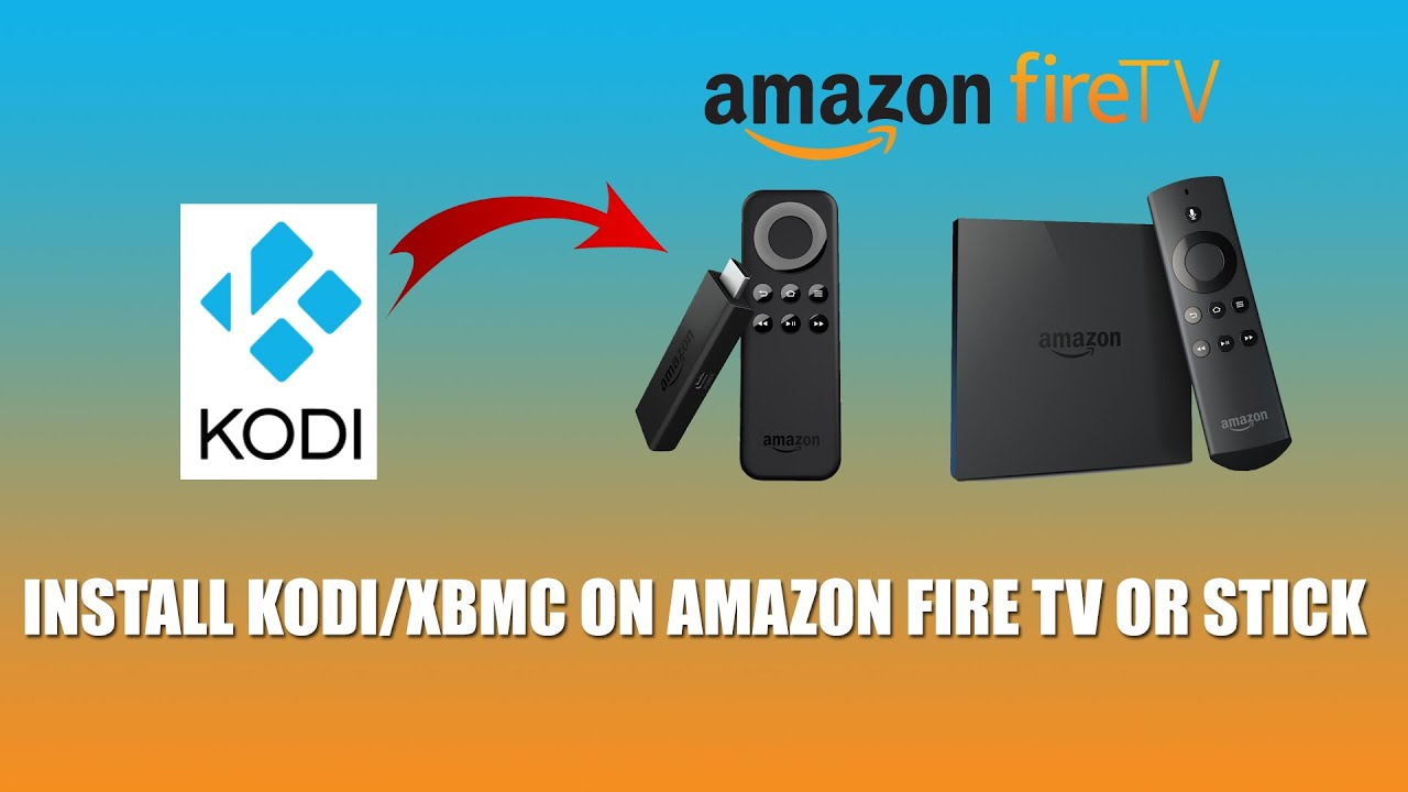Install Kodi on Amazon Fire TV or Stick via adbFire FunnyCat.TV #B06D1B 1920 1080