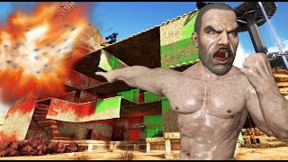 ARK - NOS DESTROZAN LA CASA!! ¿VENGANZA? - Scorched Earth #35 - NexxuzWorld