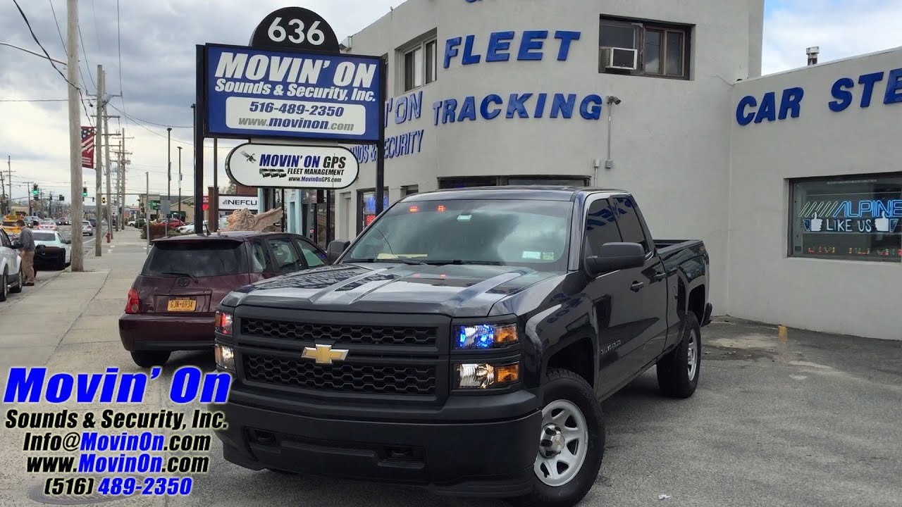 Chevy Silverado Police Lighting - YouTube