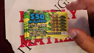 MONDAY MAYHEM! 21 ONE $ NY LOTTERY INSTANT WIN SCRATCH TICKETS W/ SMELLY MICHELLY'S BRUSSEL SPROUT