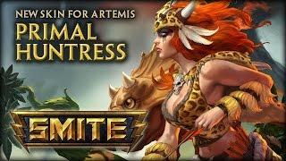 New Artemis Skin: Primal Huntress