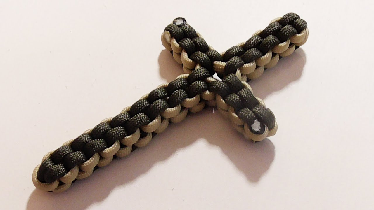 How You Can Make A Paracord Box Knot Cross Youtube