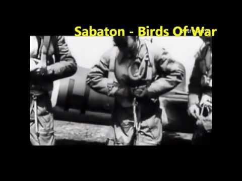 Sabaton-Birds of War (video + lyrics on screen)