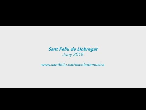 Projecte Cordes a primària de l'Escola Municipal de Música de Sant Feliu de Llobregat