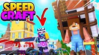 YENİ ARABAMI BOYATTIM #3 SPEEDCRAFT - Minecraft