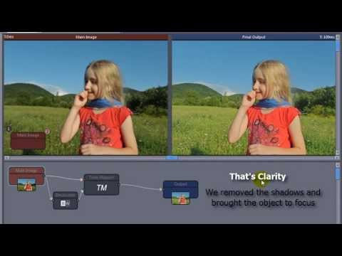 Creating Clarity effect in Photo-Reactor