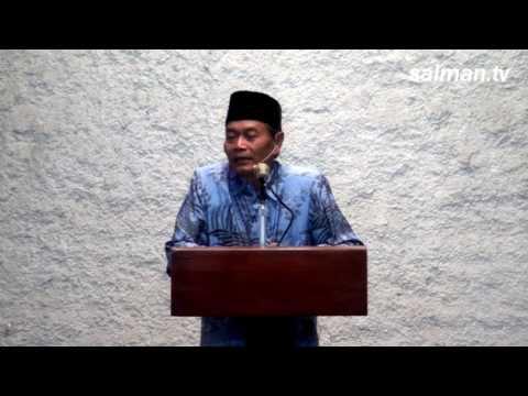 Khutbah Jumat : Dr.Ing.H.Suparno Satira
