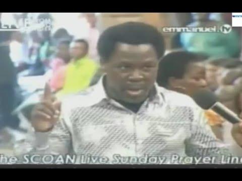 SCOAN 24/08/14: Prayer Line, Deliverance & Healing ... Emmanuel Tv