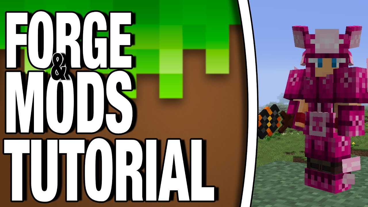 INSTALL MINECRAFT FORGE AND MODS 11.111.11 (easy)