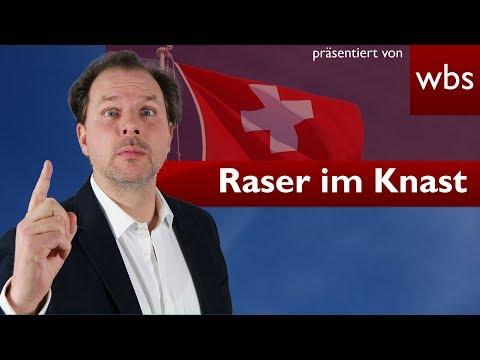 In der Schweiz gerast - In Deutschland ins Gefängnis | RA Christian Solmecke