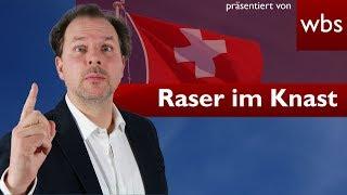 In der Schweiz gerast - In Deutschland ins Gefängnis   RA Christian Solmecke