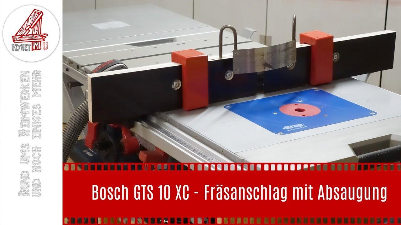 Bosch Gts 10 Xc Mit Untergestell : bosch gts 10 xc fr sanschlag mit absaugung youtube ~ Watch28wear.com Haus und Dekorationen