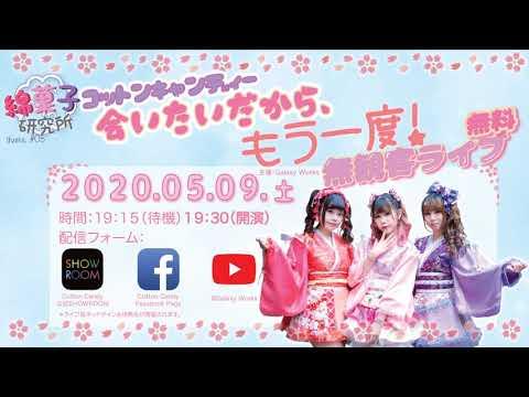 [Cotton Candy] 綿菓子研究所 テーマ#03 - 会いたいから、もう一度!無観客LIVE (20200509)