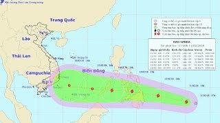 Tin Bão Mới Nhất: Cơn bão gần Biển Đông (bão Sanba)