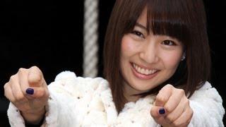 元AKB48の増田有華さんが2月14日、東京・赤坂の豊川稲荷東京別院で行わ...