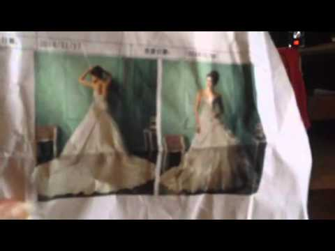 Dhgate Wedding Dress Arrival Youtube