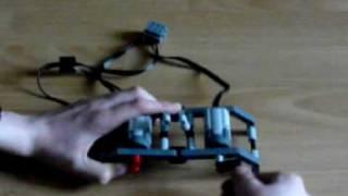 fonctionnement d'un moteur lego grace à un autre moteur lego by legotecnique45