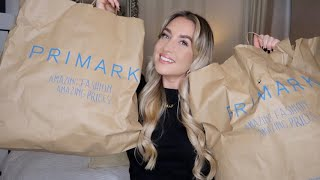 PRIMARK ESSENTIALS HAUL/PACKING FOR HOLIDAY VLOG!!!!