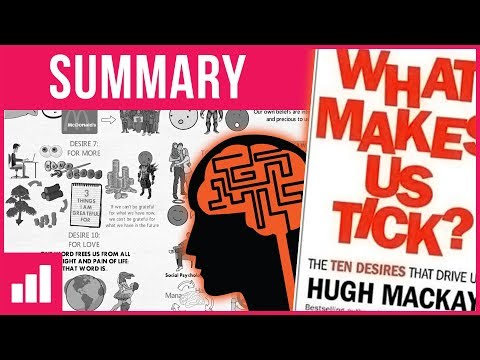 The 10 Desires That Drive Us - What Makes Us Tick? by Hugh Mackay ► Animated Book Summary
