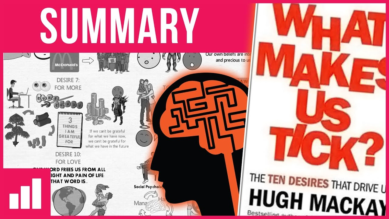 Download The 10 Desires That Drive Us - What Makes Us Tick? by Hugh Mackay ► Animated Book Summary