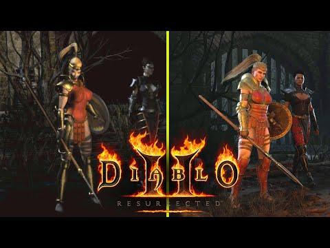Diablo II Resurrected vs Original RTX 3080 Graphics Comparison