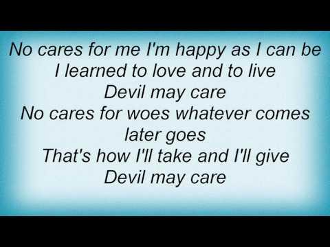 Jamie Cullum - Devil May Care Lyrics