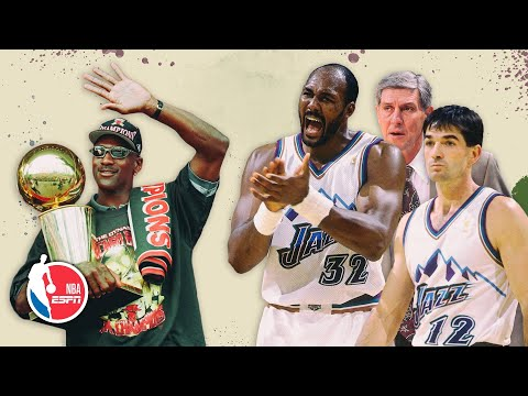 The '90s Jazz had 3 Hall of Famers ... at exactly the wrong time | Bulldozed
