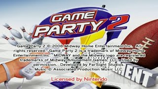Game Party 2 Wii Gameplay