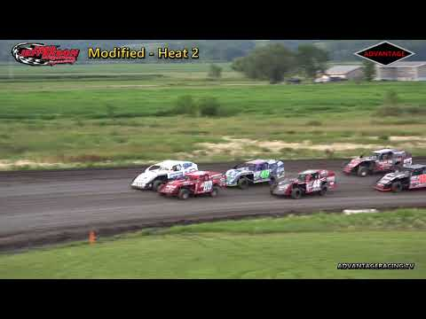 Modified Heats - Park Jefferson Speedway - 6/30/18