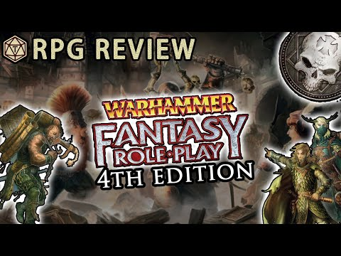 Warhammer Fantasy Roleplay Stands For Gritty Grimdark Goodness Rpg Review Mechanics Youtube