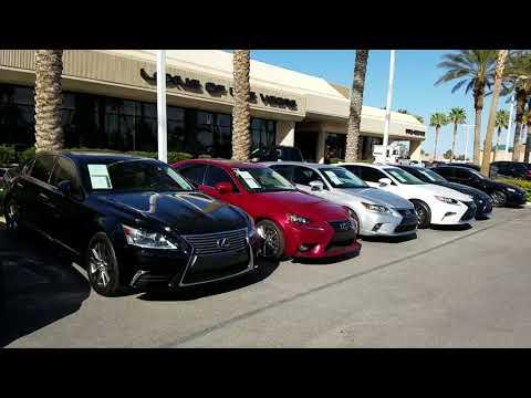 Lexus of Las Vegas: The Best Place to Buy a Car in Las Vegas