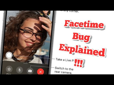 Facetime Facebook Bug Explained in a minute