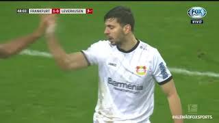 OS DONOS DA CASA! Eintracht Frankfurt faz valer o mando de campo e vence o Bayer Leverkusen