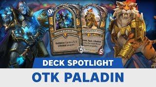OTK Death Knight Paladin | Tempo Storm Deck Spotlight! | Hearthstone | [Rastakhan