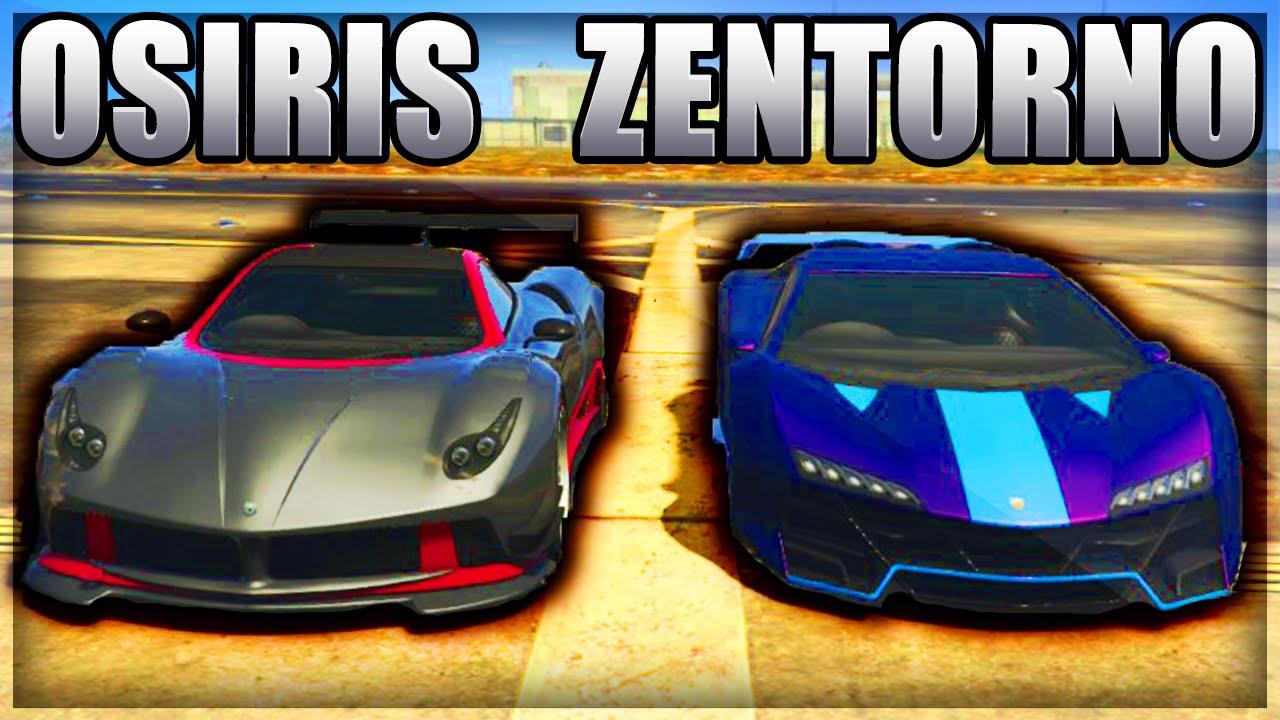 Osiris vs zentorno quel est le v hicule le plus rapide for Quel garage reprend les voiture