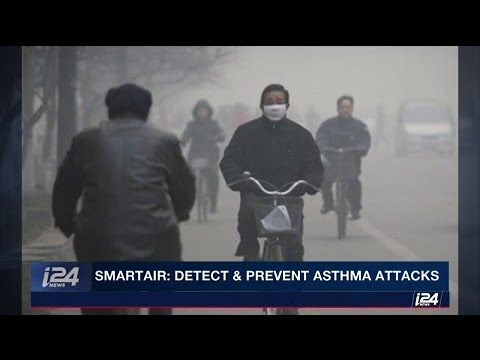 SmartAir's technology prevents asthma attacks by giving real-time, customized pollution alerts