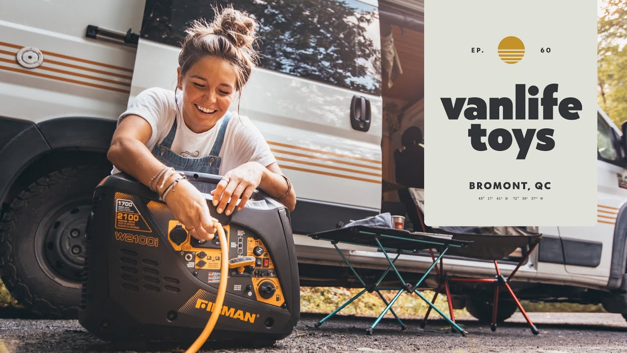 GAME CHANGERS - 4x EPIC vanlife ACCESSORIES (TOYS) that will make life on the road EASIER.