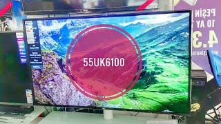 LG 55UK6100 REVİEW!!  FOOTBALL MODE